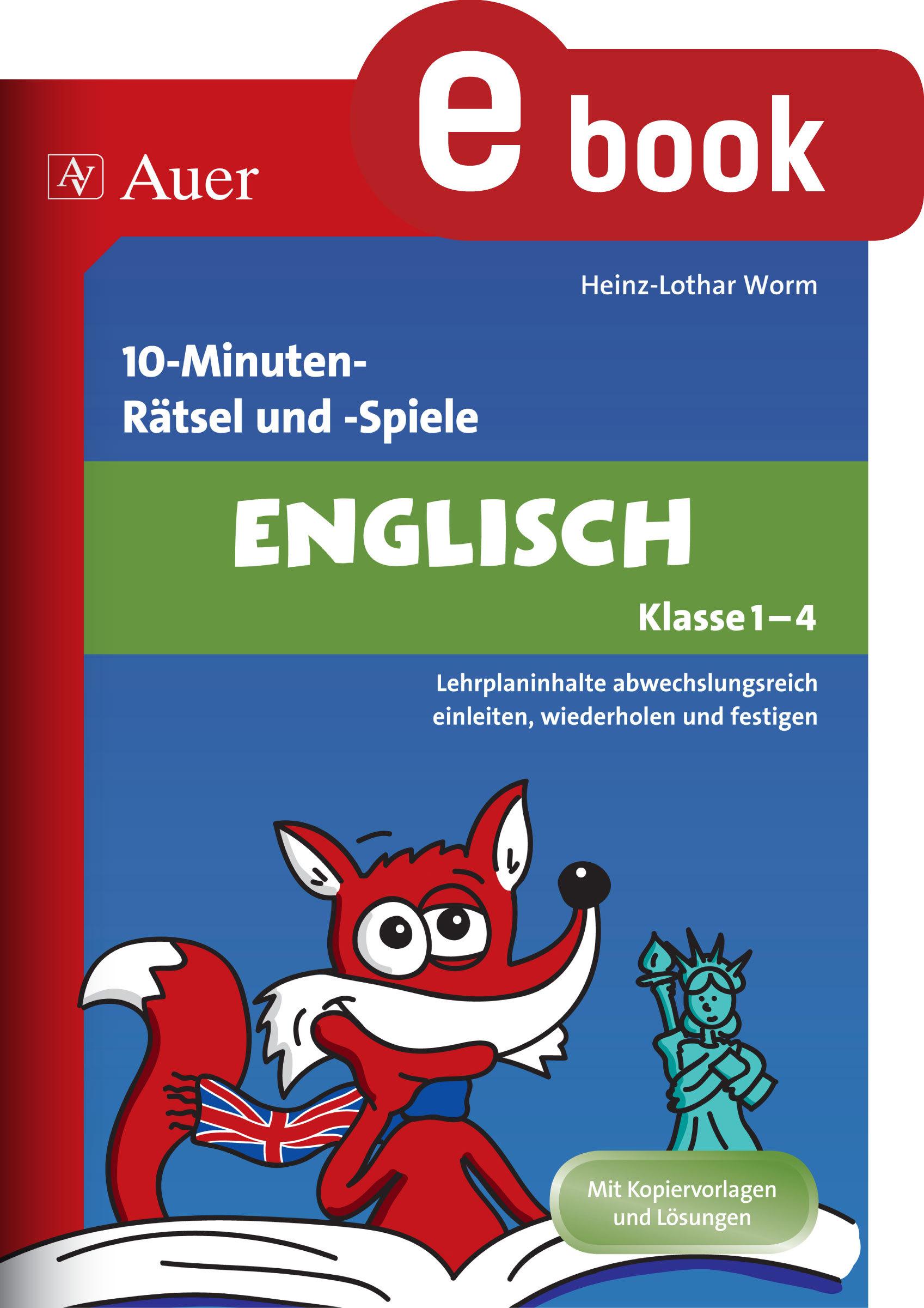10minutenrätsel und spiele englisch