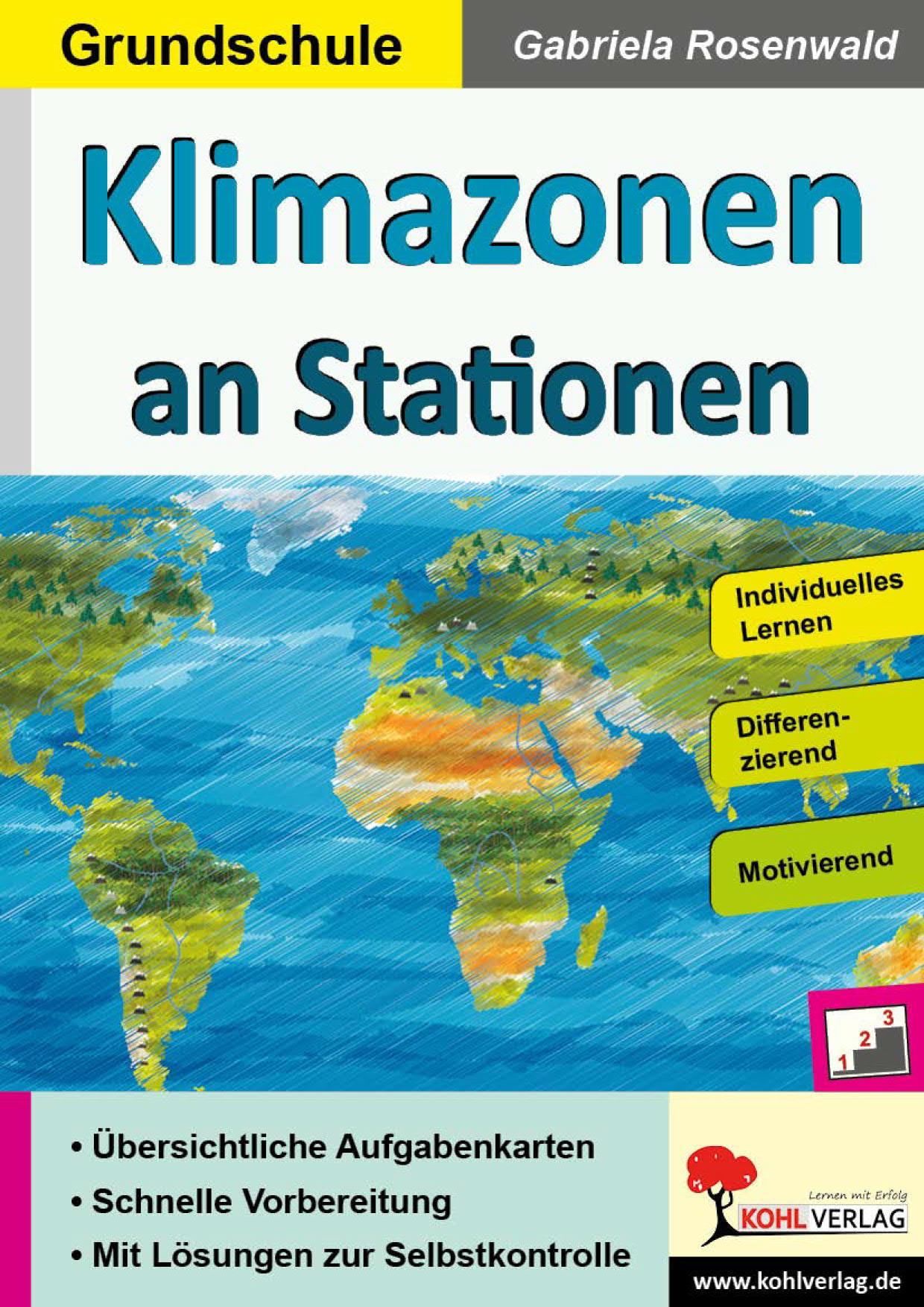 Klimazonen an Stationen / Grundschule